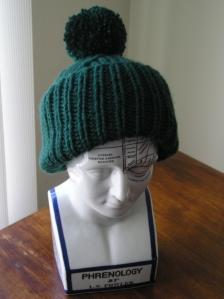 Michael Nesmith Hat on Fowler Head
