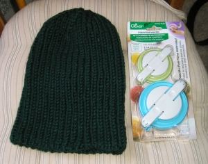Hat and Pompom Maker--together at last!