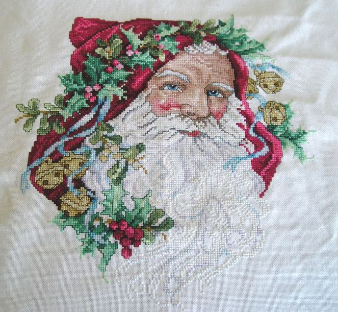 """A Portrait of Santa"" Finished"