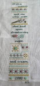 """La Broderie, """"Sew a Fine Seam"""""""