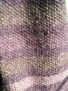 Drizzle Scarf Close-up