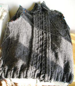 Karen's Sweater Pre-Assembly