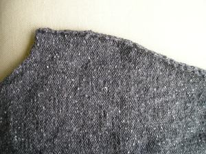 Karen's Sweater Sleeve, seamed