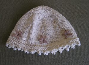 Hat for Grand-goddaughter
