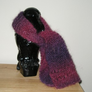 Airy Scarf by Brenda Overstrom
