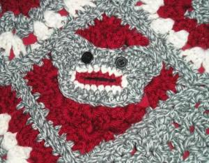 Li'l Monkey Blanket Close-up Unisex Monkey Face
