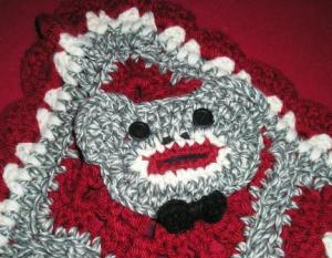 Li'l Monkey Blanket Close-up Boy Monkey Face
