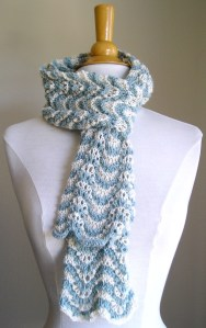 """Lacy Scarf"" Finished!"