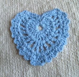 Fancy Lace Heart, Close-up
