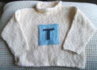 Lauren's Repurposed Sweater, Before Picture