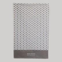 Slate Grey Moss Stitch Tea Towel
