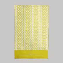 English Mustard Double Rib Tea Towel