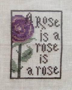 """A Rose is a Rose"" Freebee by La-D-Da"