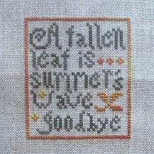 """""""Fallen Leaf Free-bee"""" by La-D-Da"""