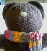 Baby Bobbi Bear Close-up