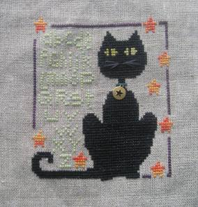 """Happy Black Black Cat Day"" by The Trilogy, my August 2014 Smalls Challenge entry"
