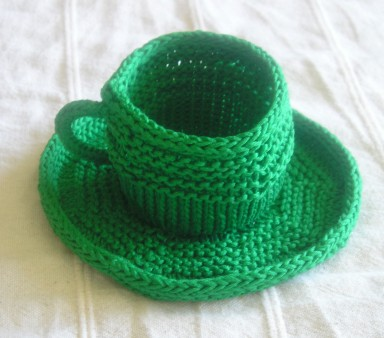 Tea Cup and Saucer, Shamrock