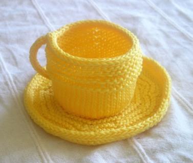Tea Cup and Saucer, Sunflower