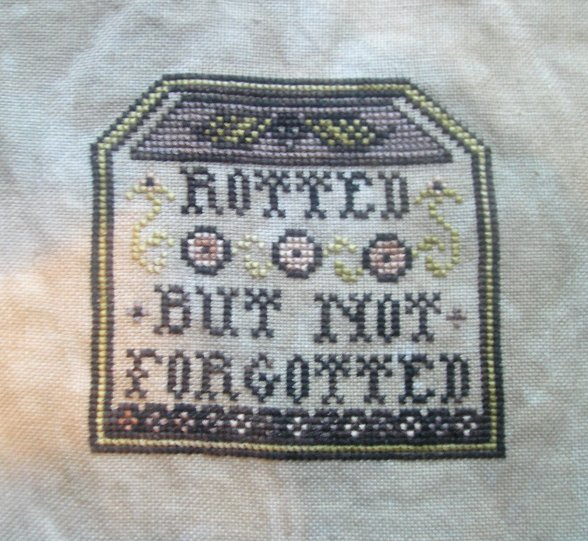 """""""Rotted but not Forgotted"""" by Plum Street Samplers"""