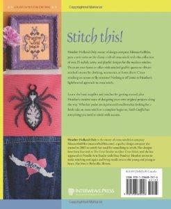 Back Cover of <i>Stitch Graffiti: Unexpected Cross-Stitch</i>