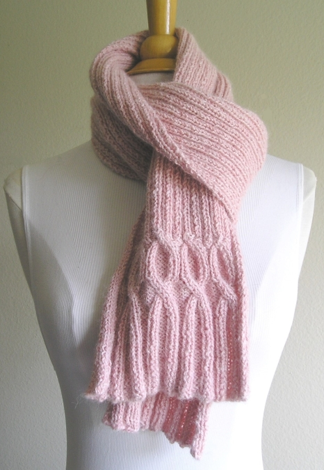 Breast Cancer Ribbin' Scarf