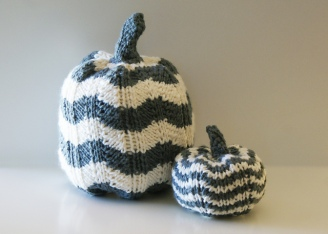 Pumpkin Chevron