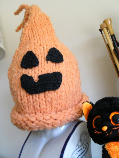 Pumpkin Hat for Ella