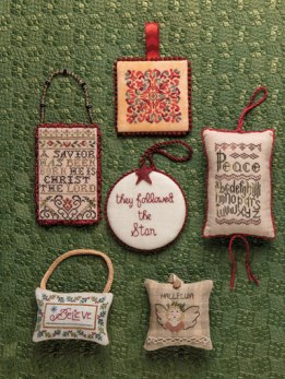 Just Cross Stitch Christmas Ornament Issue 2017 Joy to the World