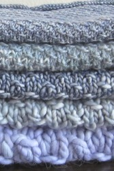Stardust Cowl Stack Close-up